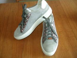 Ara Sneaker Mpart Weiß Grau Soft Leder Halbschuh Einlage 33202 40 Schnürung