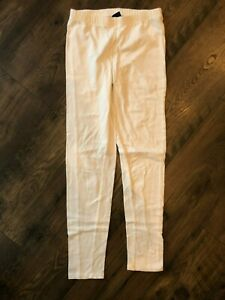 Gap Kids girls leggings white size XL (12)
