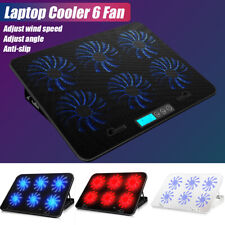 """Laptop Cooling Cooler Pad Stand 6 Fan 2 USB Computer Mat for 12""""14""""17"""""""