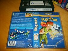 Vhs *PETER PAN* Walt Disney Collection - RARE! - Original Animation - Not a Dvd!