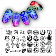Nail Art Stamping Plates Image Plate Decoration Christmas Santa Stamps (MD017)