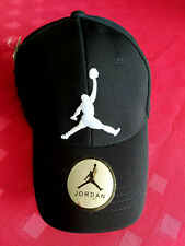 JORDAN NEW BASEBALL CAP ONE SIZE FITS ALL  LOGO AT THE FRONT BLACK COLOUR