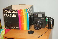 Polaroid 600 SE Medium Format Camera w/ Mamiya 127mm F/4.7