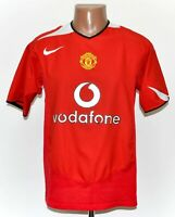 MANCHESTER UNITED 2004/2005/2006 HOME FOOTBALL SHIRT JERSEY NIKE SIZE M ADULT
