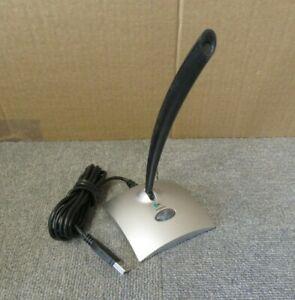 Logitech 980186-0914 Black & Silver USB Noise Cancelling Desktop Microphone