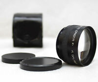Sakar Auxiliary Lens For Telephoto Focus Distance with Case Made in Japan