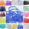 Satin Edge Sheer Organza Ribbon 10 mm x  23 metres Wedding Invites and Crafts