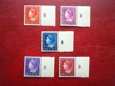 Nederland Dienstzegels D20- D24 mooi gebruikt.