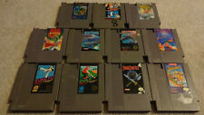 12 Game Nintendo lot - NES - Tested - Free Shipping