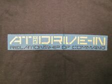 At The Drive In, Cotton/Polyester, Short, Sleeve, Shirt, Youth, MED, (10/12)