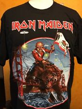 IRON MAIDEN - California MAIDEN ENGLAND 2012 tour Official shirt from Irvine, CA