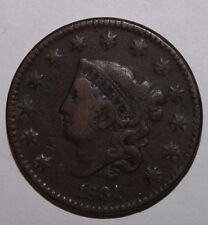 1831 US Large Cent V82