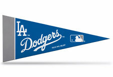"New MLB Los Angeles Dodgers Mini Pennant  9""x4"" Made in USA Banner Flag"