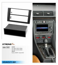 Xtronspro CD Audio Fascia Fitting Kit Trim  Facia Panel for AUDI A4 B6 SEAT Exeo