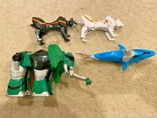 Power Rangers Jungle Fury MEGAZORD SHARK, WHITE PUMA, BLACK PUMA, ELEPHANT!