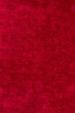 Tapis rouge rectangulaire en polyester pour la maison
