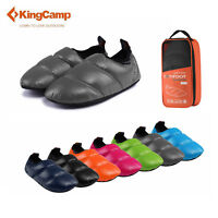 KingCamp Camping Slippers Waterproof Anti-skid Slip-on Shoes Warm Winter Outdoor