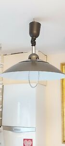 Vintage Rise & Fall Ceiling Light Pendant Pull Down Fitting by massive lighting