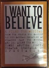 X-Files The Musical DVD (The Colonel Mustard Amateur Attic Theatre Company)