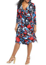 The limited Plus Size Print Wrap Dress Size 1X