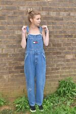 c58982577 VTG 90s Tommy Hilfiger Women's Youth Overalls Jeans Flag Size Large