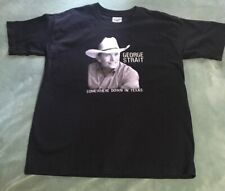 2006 George Strait Somewhere Down in Texas Tour! Youth Large Fits Like Adult S!