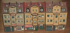 Spur H0 drei Altstadthäuser mit Ladenlokalen Höhe ca 15 cm