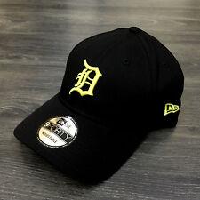 NEW ERA  CAPPELLO  Detroit tigers black/gold Visiera curva