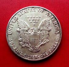 MONNAIE LIBERTY EAGLES  ONE DOLLAR  1 OZ  EN ARGENT 999 %  1992