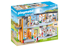 Playmobil 70190 City Life Large Furnished Hospital with Lift (Playsets) Age 3+