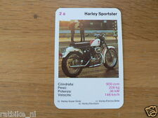 EASY RIDER 2A HARLEY SPORTSTER 900CC KWARTET KAART, QUARTETT CARD,SPIELKARTE