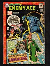 Star Spangled War Stories #140~ Enemy Ace /The Face Of The Hangman~1968 (4.0) Wh