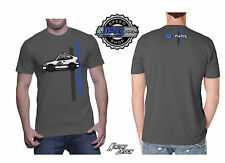 IPGparts.com 9 Second All Motor Honda CRX Drag Car Toon T-Shirt Grey XL