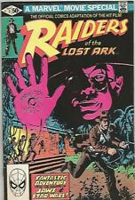 Raiders of The Lost Ark #1 (September 1981) Marvel Comics Mid Grade