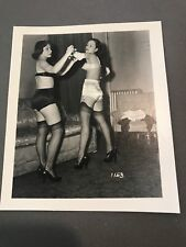 4 X 5 ORIGINAL NEGATIVE PHOTO FROM IRVING KLAW ARCHIVES Wrestling Series 1153