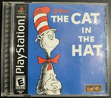 Playstation 1 PS1 Game - The Cat In The Hat - Complete NTSC-U/C