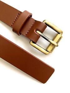 Michael Kors Belt Leather Brown Slim Belt by Michael Kors size S