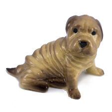 Vintage Hagen Renaker Shar Pei #2023 Dog Miniature Ceramic Figurine
