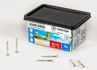 """Stainless Steel Deck Screws #8 X 1 5/8"""" Star Drive T20 Torx (QTY 350 - 1.8lb)"""