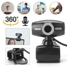 HD Webcam Laptop Kamera USB 2.0 Mit Mikrofon für PC Computer Windows 10 Mac