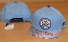 New York City FC F.C. Skyline MLS Soccer Futbol Snapback Hat Cap Men's