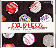Back To The 80's - Various Library - CD (Atmosphere ATMOS-CD160 Digipack)