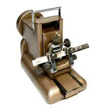 Vintage rotary microtome, R & J Beck Ltd, London, 1950s