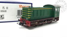 ROCO 72811 locomotiva diesel da manovra FS D236 livrea verde DDC SOUND