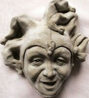 Collectible Handmade Jester Wall Sculpture with Just One Job: to Make You Smile