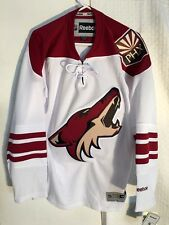 Reebok Premier NHL Jersey Arizona Coyotes Team White sz M