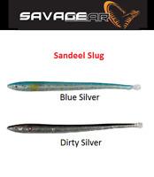 Savage Gear Sandeel Slug Predator Tackle Kopyto Soft  Lures Jig Heads