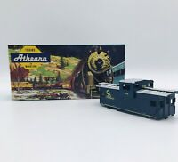 Vintage Athearn HO Scale C&O Wide Vision Caboose Car Kit 5362 NIB