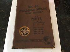 PARTS MASTER CATALOG for CATERPILLAR No.46 25C1 46C1 48C1