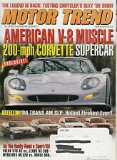 Motor Trend June 1998 - Trans AM SLP - Volvo V70 XC - Dodge Durango - Lexus RX